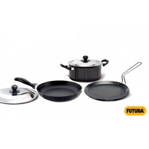Hawkins Futura 3 Pcs. Cookware Set (Induction)