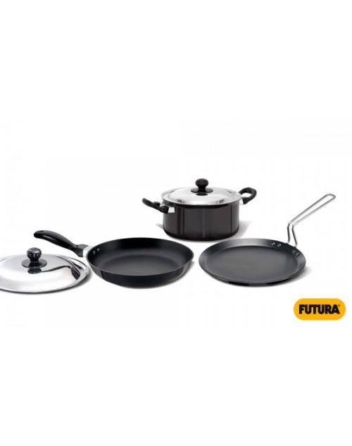 Hawkins Futura 3 Pcs. Cookware Set (Induction)