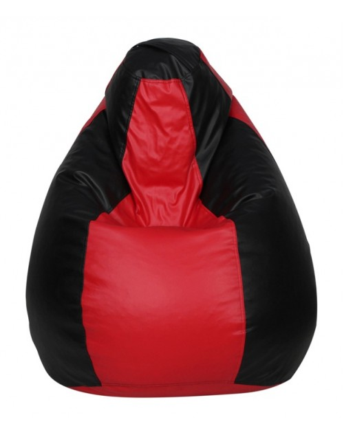 3XL Black/ Red Nudge Classic Bean Bag