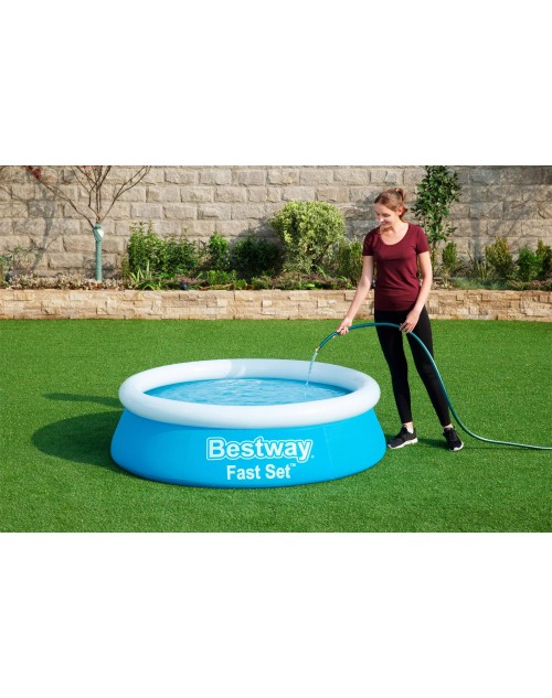 Bestway 57392 Fast set Tritech Material above ground swimming pools  6ft by 20inch