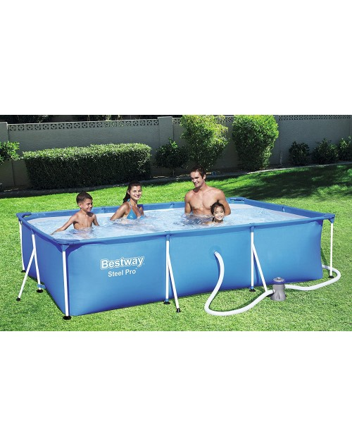 "Bestway 56411  Steel Pro™ 3.00m x 6.6 ft x 26""  Pool Set With Filter"