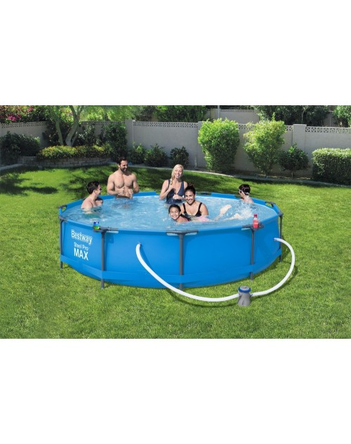 "Bestway  56416 Steel Pro MAX™ 12Ft  x 30""  Pool Set with filter"