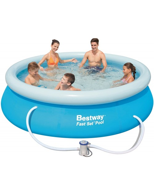 "Bestway 10' x 30"" Fast Set™ Pool Set  with filter"