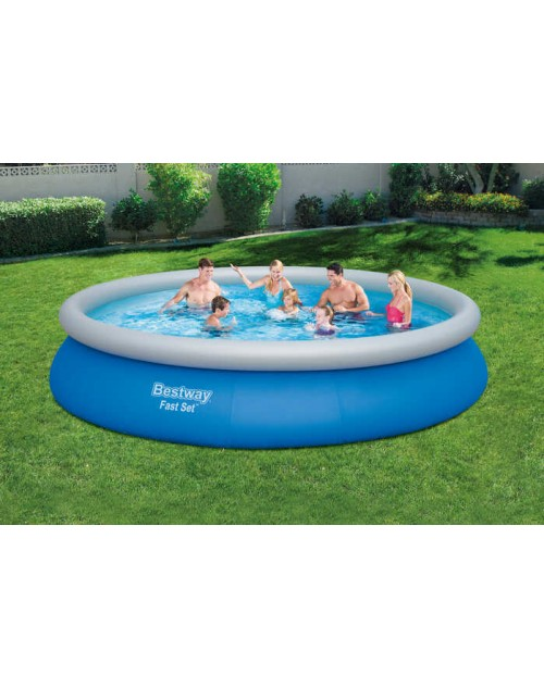 Bestway Fast Set 57313 above ground pool Framed pool Round pool 15ft x 33 inch