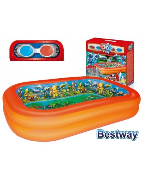 Bestway Splash & Play 3D Adventure Pool With Two 3D Goggles, 54114