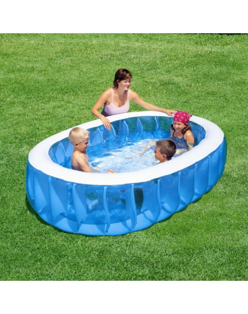 Bestway Inflatable Elliptic Family Swimming Pool , 54066