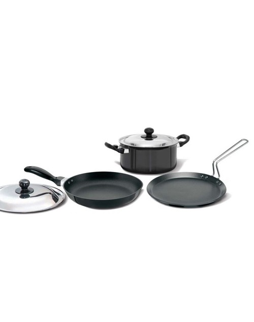 Hawkins Non-stick Induction Cookware Set