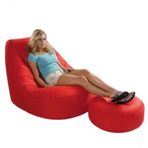 Intex Inflatable Sofa With Footrest Set