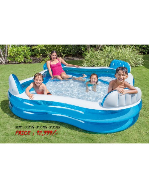 Intex Swim Center Family Lounge Pool