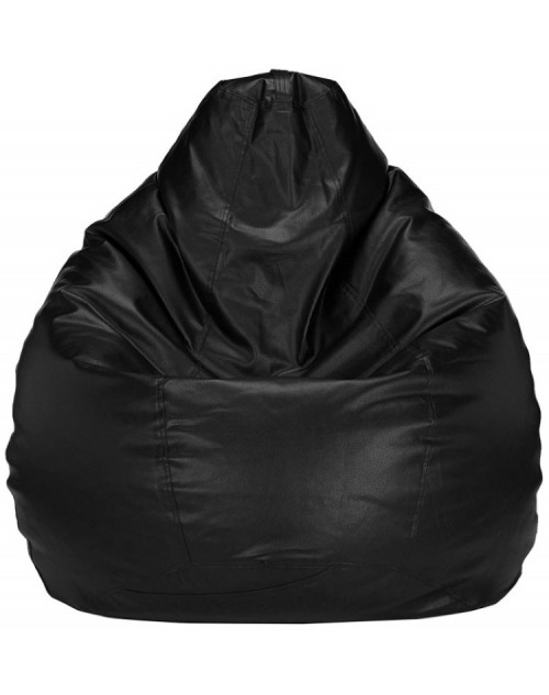 Nudge Black Bean Bag Chair 3XL