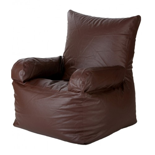 Nudge arm Bean Bag Sofa Chair Brown