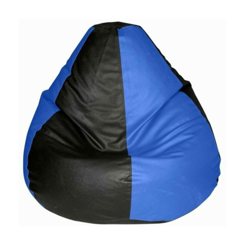 Blue and Black Bean Bag