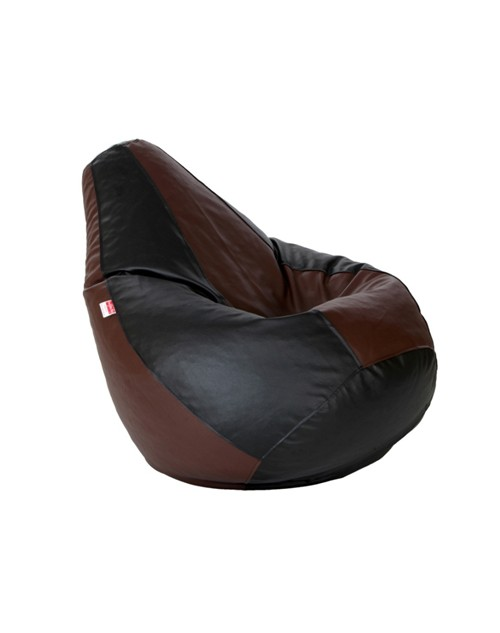 Brown and Black Bean bag