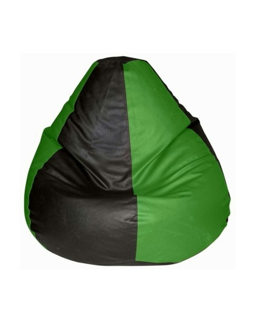Green and Black Bean Bag XXL