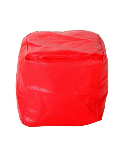 Puffy Red Bean Bag