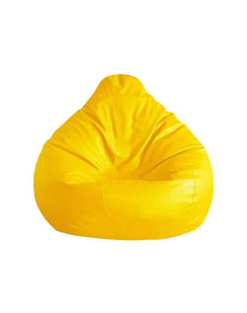 Nudge Yellow Color Bean Bag - 3XL