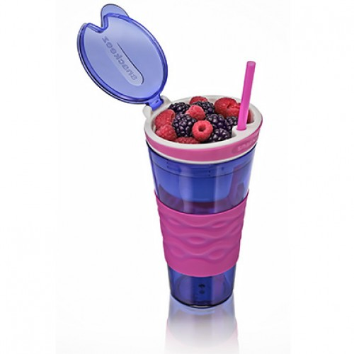2-in-1 Snack and Drink Cup