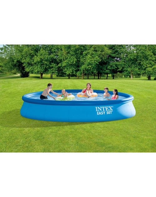 "15ft x 33"" Intex Easy Set Inflatable Above Ground Round Pool  With Filter"