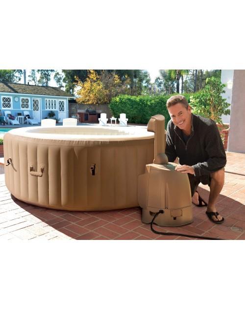 intex pure spa. Black Bedroom Furniture Sets. Home Design Ideas