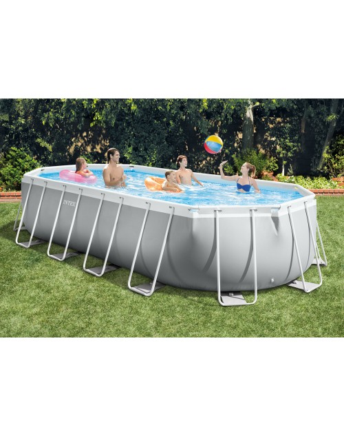 Intex® Prism Frame™ Oval pool 20ft X 10ft X 48in.