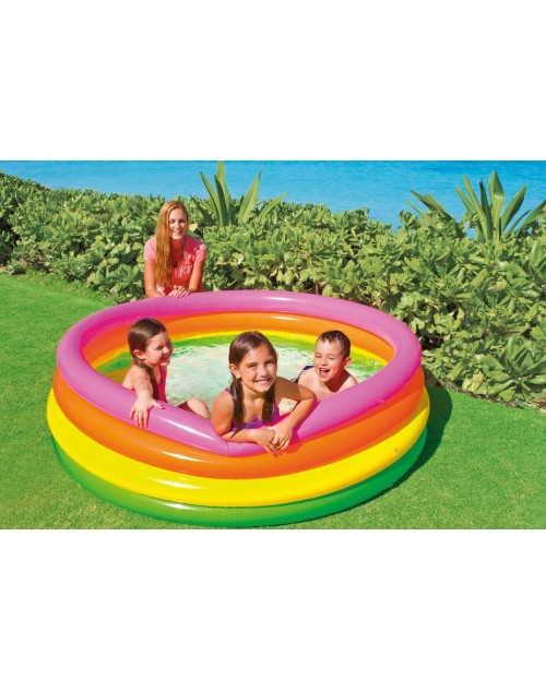INTEX – 4 RING SUNSET GLOW POOL (66 X 18 INCH) – 56441