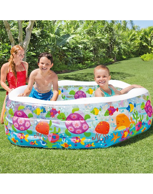 Intex Swim Center Ocean Reef Inflatable Pool 56493