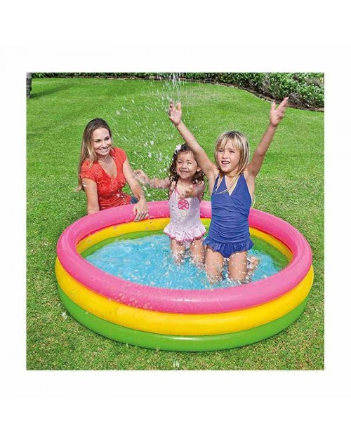 "INTEX Sunset Glow Pool 57422( 58"" x 13"" )"
