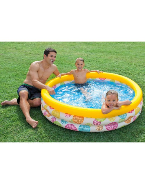 "INTEX Wild Geometry Pool58449 (66 x 15"")"