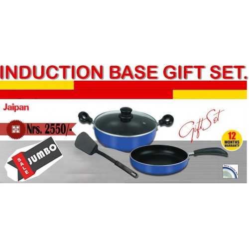 Jaipan Cookware Set Blue