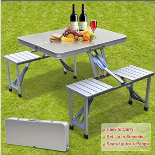 Aluminum Split Folding Tables and Chairs