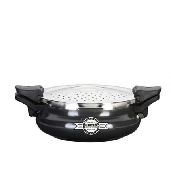 United SMART (Cooker+Strainer+Server) Hard Anodized 3 L Pressure