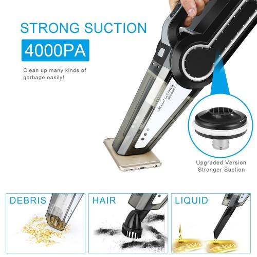 Multi-function Portable Car Vacuum Cleaner 12V 4 IN 1 120W
