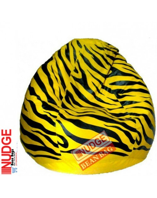Nudge Zebra Printed Bean Bag 2xl