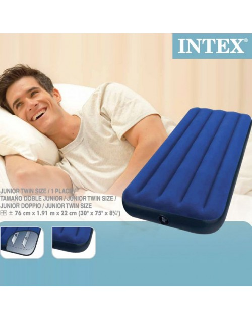 intex single air mattress Premium Intex Single Inflatable Air Bed intex single air mattress